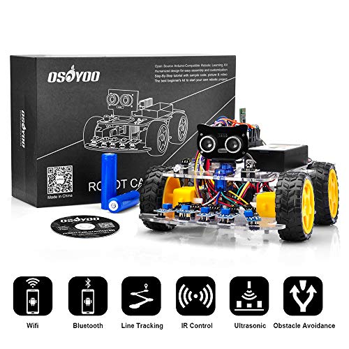 OSOYOO Robot Car Starter Kit for Arduino UNO R3 |