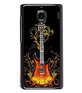 Guitar 2D Hard Polycarbonate Designer Back Case Cover for Xiaomi Redmi 1S :: Xiaomi Redmi 1