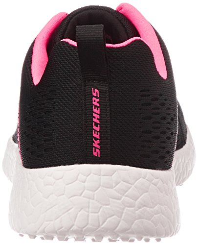 Skechers - Burst Adrenalin, Scarpe da corsa Donna Black/Hot Pink
