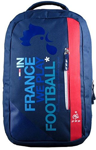 f.f.f de France Fußballnationalmannschaft 173fff204rec Rucksack Unisex Kinder, Blau