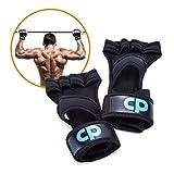 CP Gants de Crossfit Unisexe. Pour Haltérophilie avec support du poignet, anti-glisse, protège les mains et anti-transpiration (M / L)