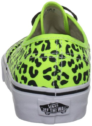 Vans U Authentic, Baskets mode mixte adulte Gelb ((Neon Leopard))
