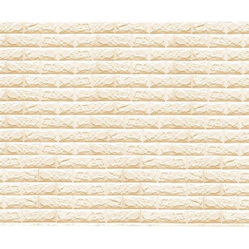 Eizur Removibili Adesivo Murali Impermeabile 3D Finta Mattone Effetto Pareti