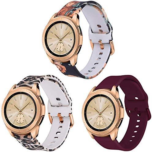 VIGOSS Silicone Floral Band Kompatible Galaxy Watch