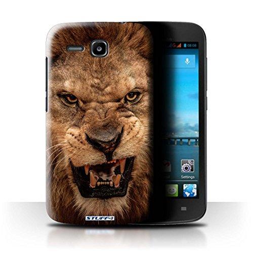 Stuff4 Hülle / Hülle für Huawei Ascend Y600 / Löwe Muster / Wilde Tiere Kollektion