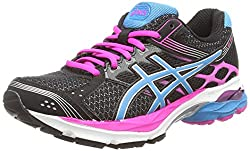 Asics Gel-pulse 7, Women's Running Shoes, Black (Blackturquoisepink Glow 9040) 8 Uk