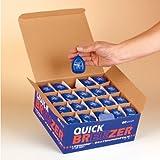 Quick Breezer Beatmungsfolie mit Mundstück Runddose