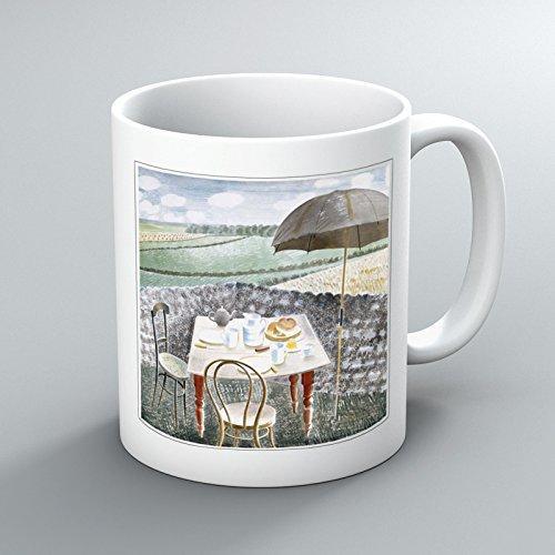 Eric Ravilious Sussex und Daunen, Tee, Kaffee, Tasse, Design Toby Tee