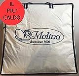 Sofficepiuma.it Molina by Piumino D' Oca Siberiano Gilda Extra Warm 5 Stelle ***** Massimo Calore Prodotto in Esclusiva per soffice Piuma.it (250x200 Matrimoniale)