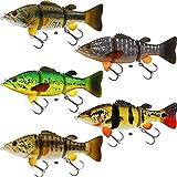 Westin Barry the Bass Sinking 15cm 59g - Swimbait Wobbler zum Spinnfischen auf Hecht & Zander, Hechtwobbler, Hechtköder Spinnköder, Farbe:Peacock Bass