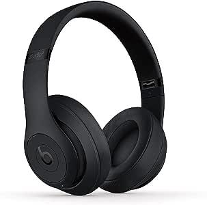 BeatsStudio3Over-EarBluetooth Kopfhörer mit Noise-Cancelling– AppleW1Chip, Bluetooth der Klasse1, aktives Noise-Cancelling, 22Stunden Wiedergabe– Mattschwarz
