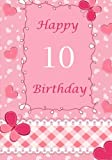 Best Birthday Gifts For Girls 10 Years Olds - Happy Birthday (Birthday Journals or Notebooks) Review