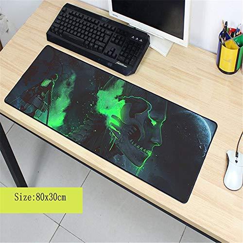 Schöne Marmormausunterlage Berufsspielspieler-Computertastatur-Mäusetabellenmatte 3 800x300x2 4 Servietten Basic