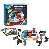 ThinkFun - Turnstile, juego de ingenio (1003) , Modelos/colores Surtidos, 1 Unidad