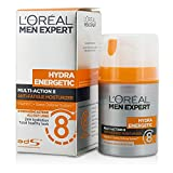 #6: L'Oreal Men Expert Hydra Energetic Multi-Action 8 Anti-Fatigue Moisturizer 50ml/1. 7oz