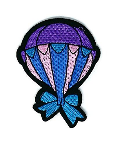(Ballon Cartoon bestickt Nähen Eisen auf Patch Cartoon Nähen Eisen auf bestickte Applikation Craft handgefertigt Baby Kid Girl Frauen Tücher DIY Kostüm Zubehör)