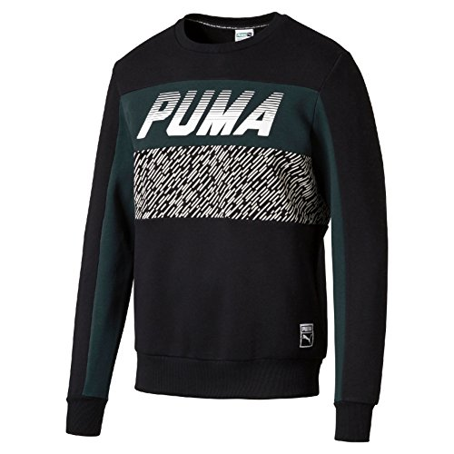 Puma Speed Herren Sweatshirt schwarz - schwarz