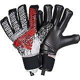 adidas Herren Predator Pro Fingersave Torwarthandschuhe, Silver met./Black/HI-Res RED S18, 10