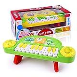 iVansa 10-Key Musikspielzeug Baby Spielzeug - Musikinstrumente für Baby Klavier Keyboard - Kinder Keyboar Spielzeug für Kleinkinder ab 1 Jahre