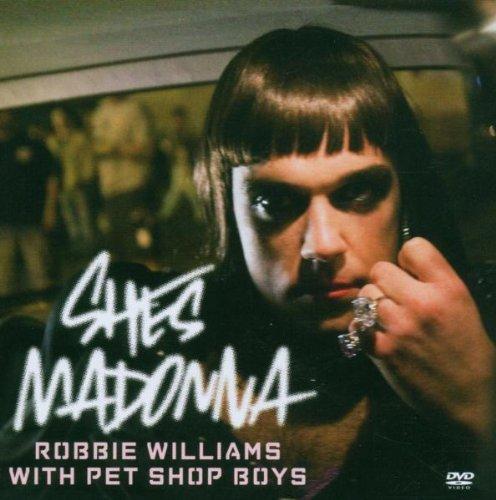 Preisvergleich Produktbild Robbie Williams - She's Madonna (DVD-Single)