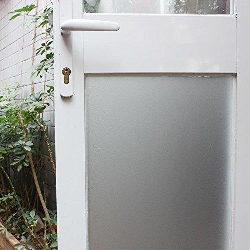 Fancy-fix Fensterfolie Dekorfolie Sichtschutzfolie Statische Folie Selbsthaftend (ohne Kleber) Milchglasfolie 40x150cm
