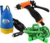 #10: Amazing Mall Car Cleaning Water Gun & 10 Meter Special Hose Micro Pump