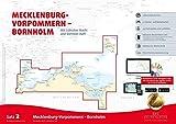Sportbootkarten Satz 2: Mecklenburg-Vorpommern - Bornholm (Ausgabe 2017): Mit Lübecker Bucht und Stettiner Haff