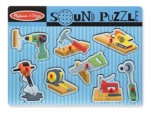 Preisvergleich Produktbild Melissa & Doug 10733 - Tönendes Puzzle - Bauwerkzeug