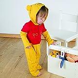 Amscan Dress Up DCWIN-RJ03 Disney Winnie The Pooh Romper Costume, 3-6 Months