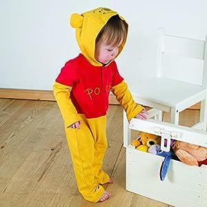 Amscan DCWIN-RJ06 - Disfraz de Winnie The Pooh de Disney (6 a 9 Meses)