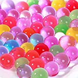 Lumanuby 1000 x Mixed Colors Crystal Water Gel Beads Jelly Water Pearl (Mix) For Plant Wedding Decoration