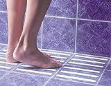 #9: 90 Degree 12 pcs 2×38 cm Bathroom Anti Slip Skid Tape
