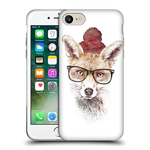 Ufficiale Robert Farkas Volpe DInverno Donna Volpe Cover Morbida In Gel Per Apple iPhone 6 Plus / 6s Plus Fa Freddo Fuori