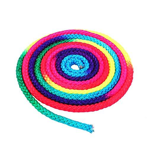 Dewin Cuerda gimnástica - Arco Iris Color Gimnasia