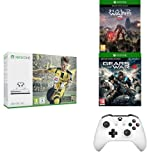 Pack Console Xbox One S 500 Go + Fifa 17 + Halo Wars 2 + Gears of War 4 + 2ème manette