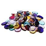 Sharplace 100g Runde Glas Mosaik Fliesen