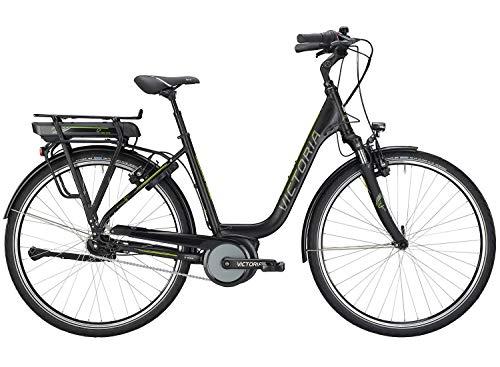 Victoria E-Trekking 5.10 SEC E-Bike Modell 2019, Schwarz Bosch 500Wh, Damen-Herren Rad (26 Zoll / 45cm)