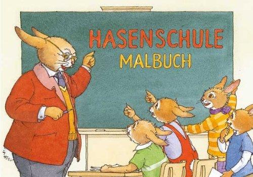 schule * von Bernhard Oberdieck im Grätz-Verlag // 18741 // Kinder Geschenk ausmalen Mitbringsel Kreativ Spass Spiel Ostern Hase Schule ()
