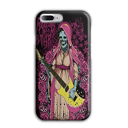 Rock Star Zombie Musik Gebeine Schlagen iPhone 8 Plus Hülle | Wellcoda (Rock Star Zombie)
