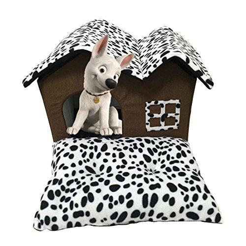 Haustier Haus Katze Bett mit Indoor abnehmbare Kissen Mat Pad Hundebett Doppel Dach Haus für kleine Hunde & Katzen Schlaf (Indoor-haustier-bett)