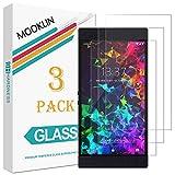 MOOKLIN Panzerglas Displayschutzfolie für Razer Phone 2, 9H Härte, Anti-Kratzen, Anti-Bläsche, [3 Stück]