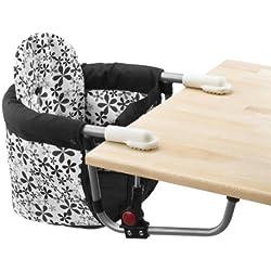 Chic 4 Baby 350 23 Relax - Sillita para bebé ajustable a la mesa, diseño de flores