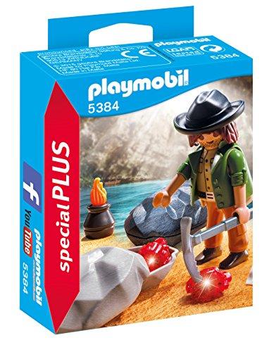 Playmobil Especiales Plus- Gem Hunter Figura Accesorios