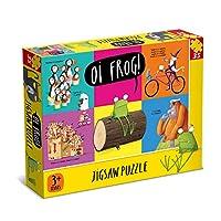 Oi 7335 Frog 35 Piece Jigsaw Puzzle, Yellow