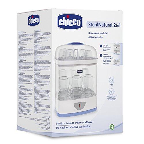Chicco 00007392000000 Dampfsterilisiergerät 2in1, mehrfarbig - 5