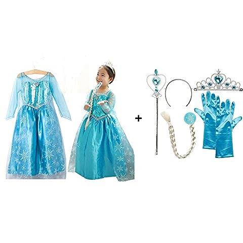 Costume La Reine Des Neiges - NICE SPORT La Reine des Neiges Elsa