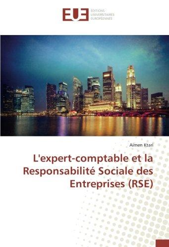 L'expert-comptable et la Responsabilité Sociale des Entreprises (RSE) par Aimen Ktari