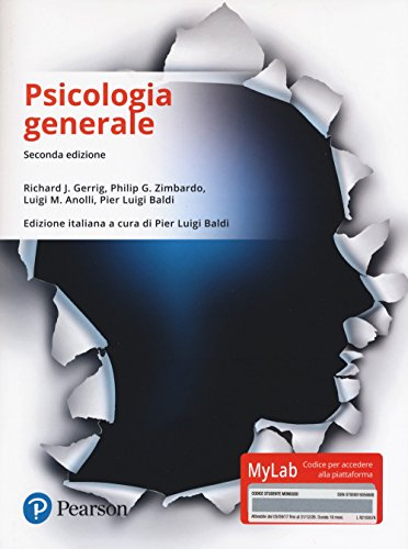 Psicologia generale. Ediz. Mylab. Con Contenuto digitale per download e accesso on line