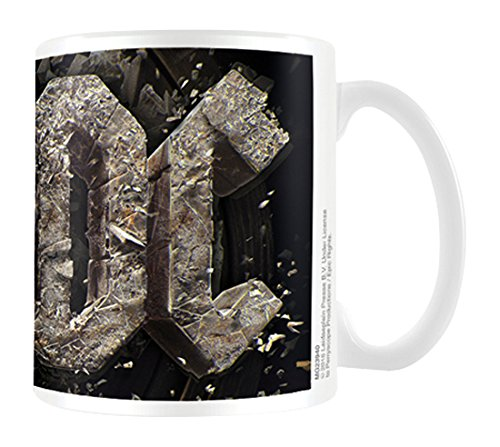 AC/DC Rock Or Bust Tazza di ceramica, multicolore