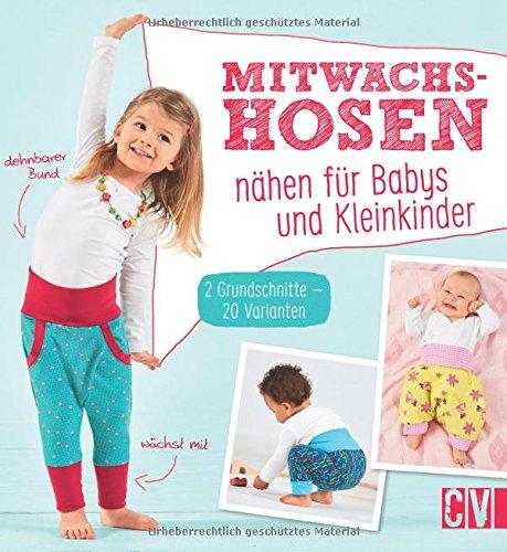 Mitwachshosen nähen für Babys un...